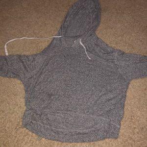 Thin Gray Sweatshirt